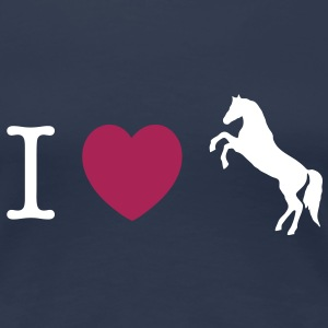 I love Ponies wild horse - this design lets you change all colours Camisetas - Camiseta premium mujer
