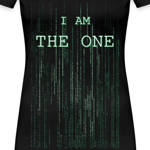 Matrix letter - I am the one