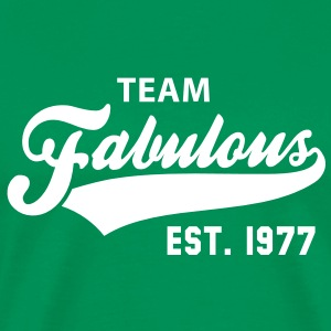 TEAM Fabulous Est. 1977 Birthday Anniversary T-Shirt WG - Men's Premium T-Shirt