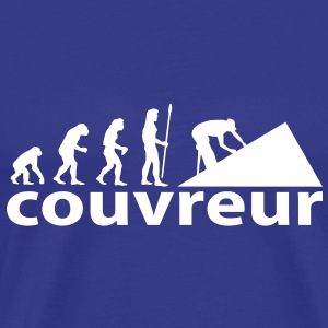 evolution_couvreur Tee shirts - T-shirt Premium Homme