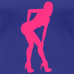 sexy girl 2 T-Shirts - Frauen Premium T-Shirt