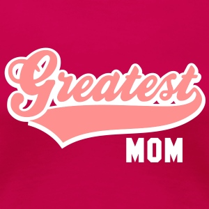 Greatest MOM 2CT-Shirt RP - Premium T-skjorte for kvinner