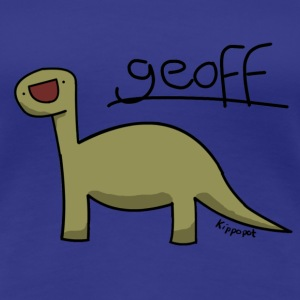 Geoff the dinosaur T-Shirts - Women's Premium T-Shirt