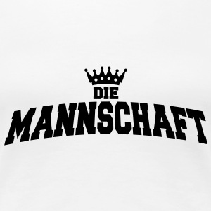 die mannschaft with crown T-Shirts - Frauen Premium T-Shirt