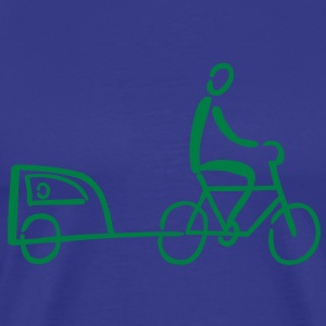 Bike Trailer T-Shirts - Men's Premium T-Shirt