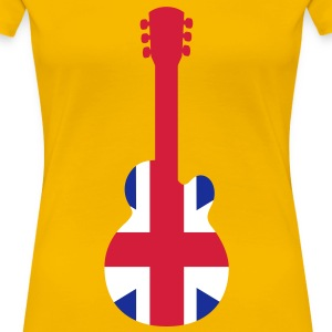 British Guitar T-Shirts - Frauen Premium T-Shirt