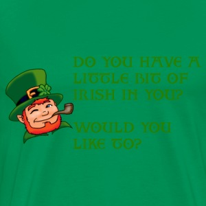 Irish in you? - Men's Premium T-Shirt