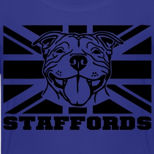 staffords smileflag3 Kids' Shirts - Teenage Premium T-Shirt