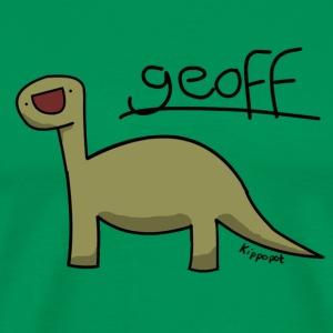 Geoff the dinosaur T-Shirts - Men's Premium T-Shirt