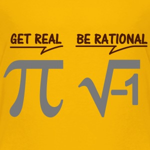 be rational - get real (2c) Kinder T-Shirts - Kinder Premium T-Shirt