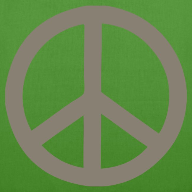 Øko, peace, camoflage tryk