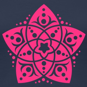 Venus Flower, Vector - FLOWER OF LOVE, symbol of love, balance and beauty / T-shirts - Premium-T-shirt dam