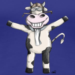 Flying Cow T-shirts - Vrouwen Premium T-shirt