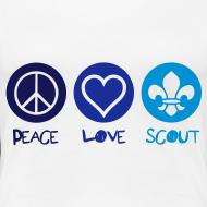Motif ~ Peace Love Scout (Color)