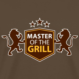 master of the grill T-Shirts - Männer Premium T-Shirt