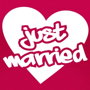 Just Married__V002 T-Shirts - Women's Premium T-Shirt