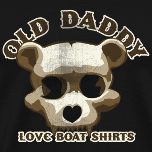 Old Daddy Skull Tee shirts - T-shirt Premium Homme