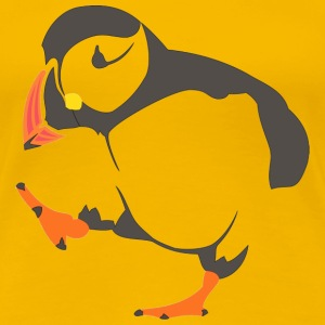 Walking  puffin T-Shirts - Women's Premium T-Shirt