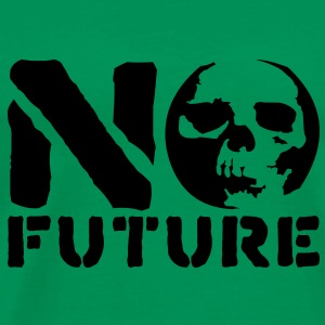 No Future__V005 T-shirts - Mannen Premium T-shirt