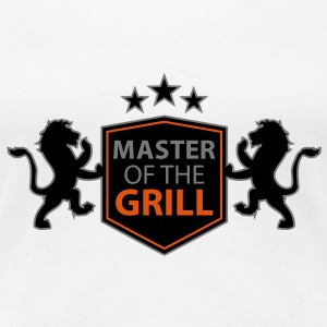 master of the grill T-Shirts - Women's Premium T-Shirt