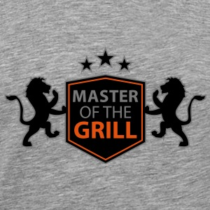 master of the grill T-Shirts - Men's Premium T-Shirt