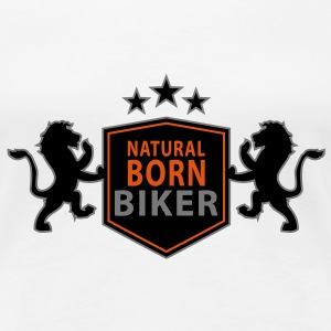 natural_born_biker T-Shirts - Women's Premium T-Shirt