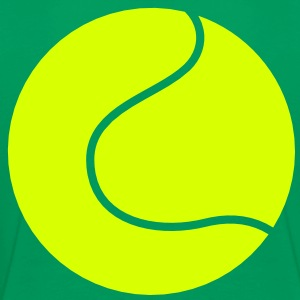outline shape of a tennis ball simple Shirts - Kids' Premium T-Shirt