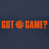 Zoom: Women's Premium T-Shirt with design Basketball