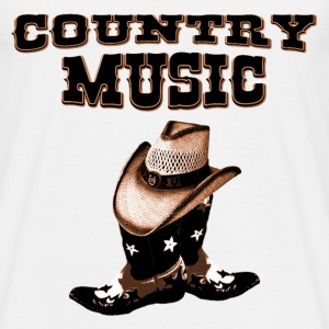 country music T-shirt - Maglietta da uomo