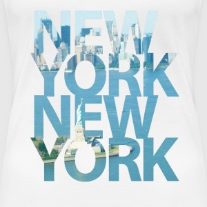 New York, New York T-Shirts - Frauen Premium T-Shirt