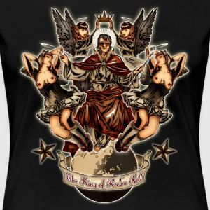 The King of Rock'n Roll T-Shirts - Frauen Premium T-Shirt