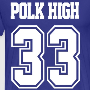 Polk High - Men's Premium T-Shirt