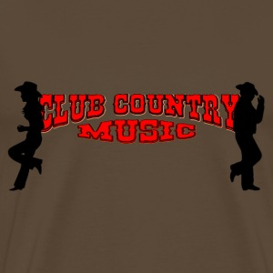 club country music T-shirts - Mannen Premium T-shirt