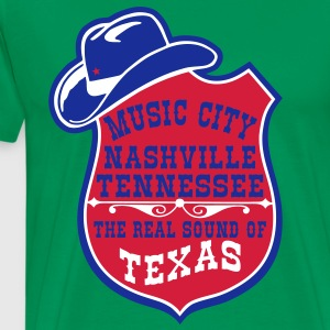 music city nashville tennessee  Tee shirts - T-shirt Premium Homme