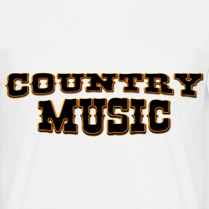 country music T-Shirts - Männer T-Shirt