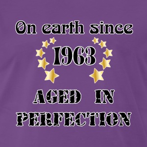 on earth since 1963 T-Shirts - Männer Premium T-Shirt