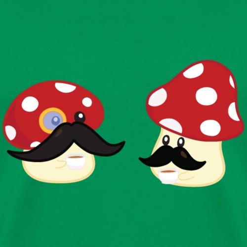 Champignons moustachus