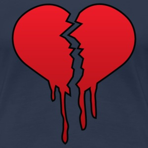 Broken heart - Women's Premium T-Shirt