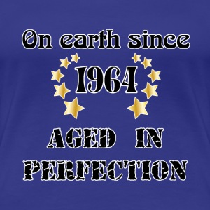 on earth since 1964 T-shirts - Dame premium T-shirt