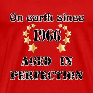 on earth since 1966 T-Shirts - Men's Premium T-Shirt