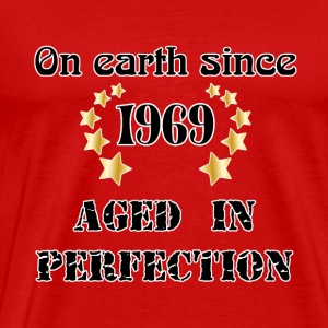 on earth since 1969 T-shirts - Herre premium T-shirt