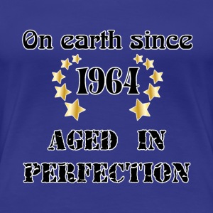 on earth since 1964 Tee shirts - T-shirt Premium Femme