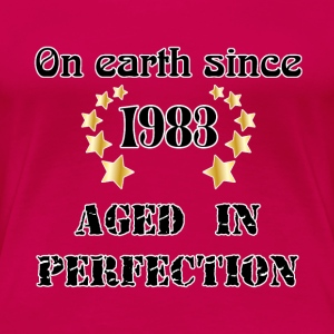 on earth since 1983 T-Shirts - Women's Premium T-Shirt