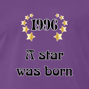 1996 - a star was born T-shirts - Premium-T-shirt herr