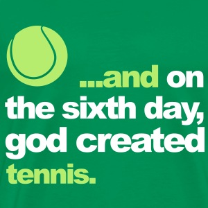 Sixth Day - Tennis T-Shirts - Men's Premium T-Shirt