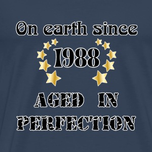 on earth since 1988 T-shirt - Maglietta Premium da uomo