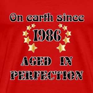 on earth since 1986 T-shirts - Premium-T-shirt herr
