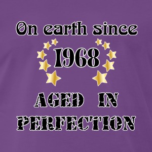 on earth since 1968 T-Shirts - Men's Premium T-Shirt