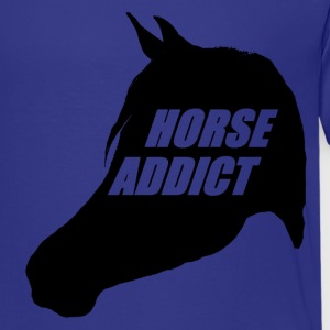 HORSE ADDICT  - Teenager premium T-shirt