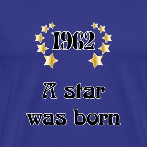 1962 - a star was born T-shirts - Mannen Premium T-shirt